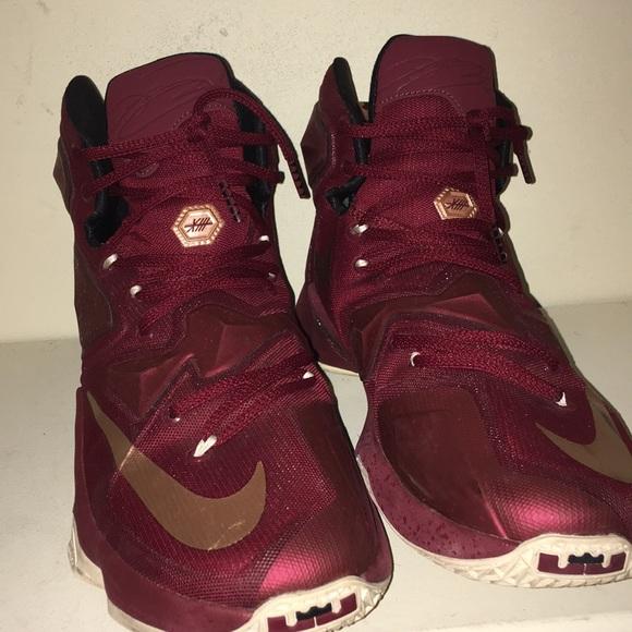 size 40 966a3 7634b ... reduced nike shoes lebron 13 poshmark 654dc eb46f